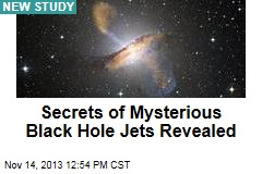 Secrets of Mysterious Black Hole Jets Revealed