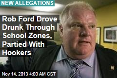 Booze, Drugs, Hookers in New Ford Allegations