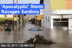 'Apocalyptic' Storm Dumps 17 Inches of Rain on Sardinia