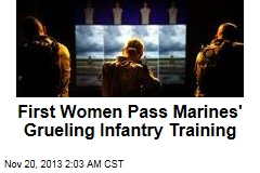 First Women Pass Grueling Marine Infantry Training
