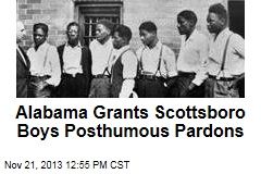 Alabama Grants Scottsboro Boys Posthumous Pardons