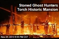Stoned Ghost-Hunters Torch Mansion: Cops