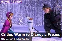 Critics Warm to Disney's Frozen