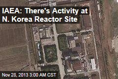 IAEA: There's Activity at N. Korea Reactor Site