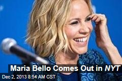 Maria Bello Comes Out in NYT