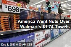 Walmart's Biggest Black Friday Seller: Towels