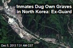 Ex North Korea Guard: Inmates Dug Own Graves