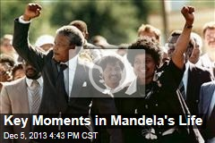 Key Moments in Mandela's Life