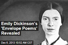 Emily Dickinson's 'Envelope Poems' Revealed