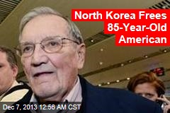 North Korea Frees 85-Year-Old American