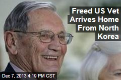 Freed US Vet Arrives Home From North Korea