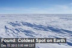 Satellite Spies Coldest Spot on Earth