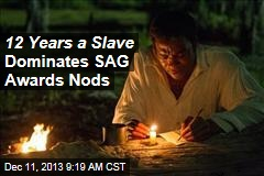 12 Years a Slave Dominates SAG Awards Nods