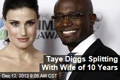 Taye Diggs Splitting With Wife of 10 Years