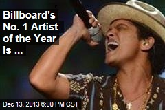 Billboard's No. 1 Artist of the Year Is ...