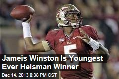 Jameis Winston Is Youngest Ever Heisman Winner