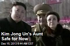 Safe for Now: Kim Jong Il's Aunt