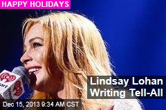 Lindsay Lohan Writing Tell-All