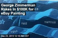George Zimmerman Rakes In $100K for eBay Painting