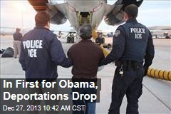 In First for Obama, Deportations Drop