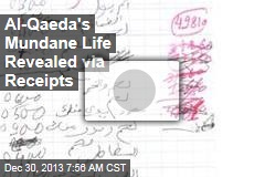 Al-Qaeda's Mundane Life Revealed, via Receipts