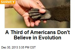 Less Than 50% of GOP Believes in Evolution