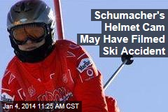 Schumacher's Helmet Cam May Have Filmed Ski Accident