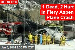 Plane Crashes at Aspen Airport