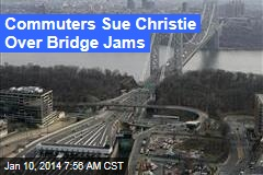 Commuters Sue Christie Over Bridge Jams