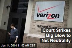 Court Strikes Big Blow to Net Neutrality