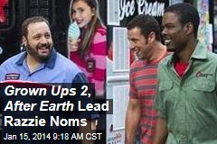 Grown Ups 2 , After Earth Lead Razzie Noms