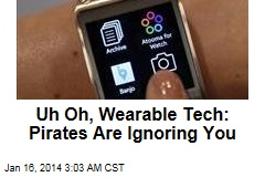 Chinese Counterfeiters Shun Wearable Tech