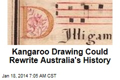 Kangaroo Drawing Could Rewrite Australia's History