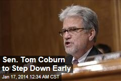 Sen. Tom Coburn to Step Down Early