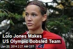 Lolo Jones Makes US Olympic Bobsled Team