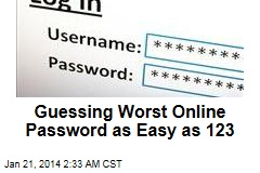Guessing Worst Online Password as Easy as 123