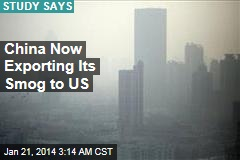 US Chokes on China's Smog
