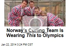 Norway's Curling Team Is Wearing This to Olympics