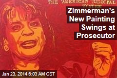 Zimmerman's New Painting Swings at Prosecutor