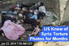 US Knew of Syria Torture Photos for Months