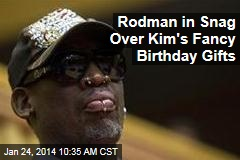 Rodman in Snag Over Kim's Fancy Birthday Gifts