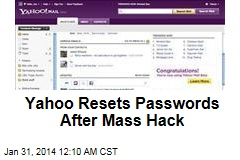 Yahoo Resets Passwords After Mass Hack