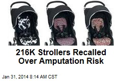 216K Strollers Recalled Over Amputation Risk
