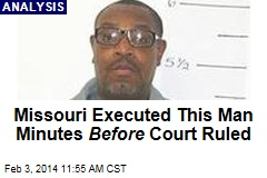Missouri Executed This Man Minutes Before Court Ruled