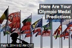 Here Are Your Olympic Medal Predictions