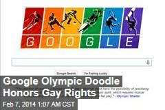 Google Olympic Doodle Honors Gay Rights