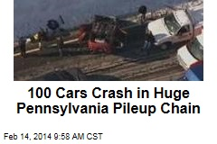 100 Cars Crash in Huge Pennsylvania Pileup Chain