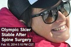 Olympic Skier Stable After Spine Surgery