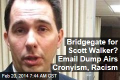 Is Email Dump Scott Walker's Bridgegate?