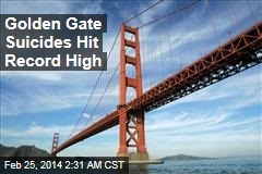 Golden Gate Suicides Hit Record High